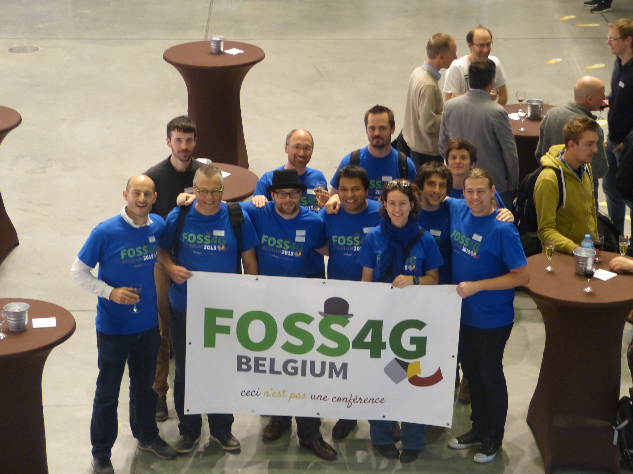 The first FOSS4G Belgium, October 2015